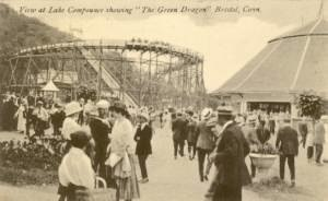 Lake Compounce - Green Dragon roller coaster