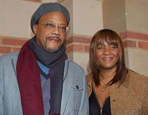 Greg Mathis - Mathis with his wife Linda in December 2010