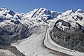 Grenzgletscher as seen from Gornergrat, Wallis, Switzerland, 2012 August.jpg