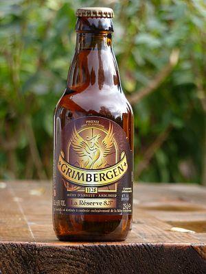 Grimbergen (beer) - Image: Grimbergen La Reserve