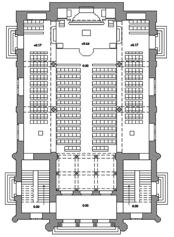 gallery for gt synagogue floor plan