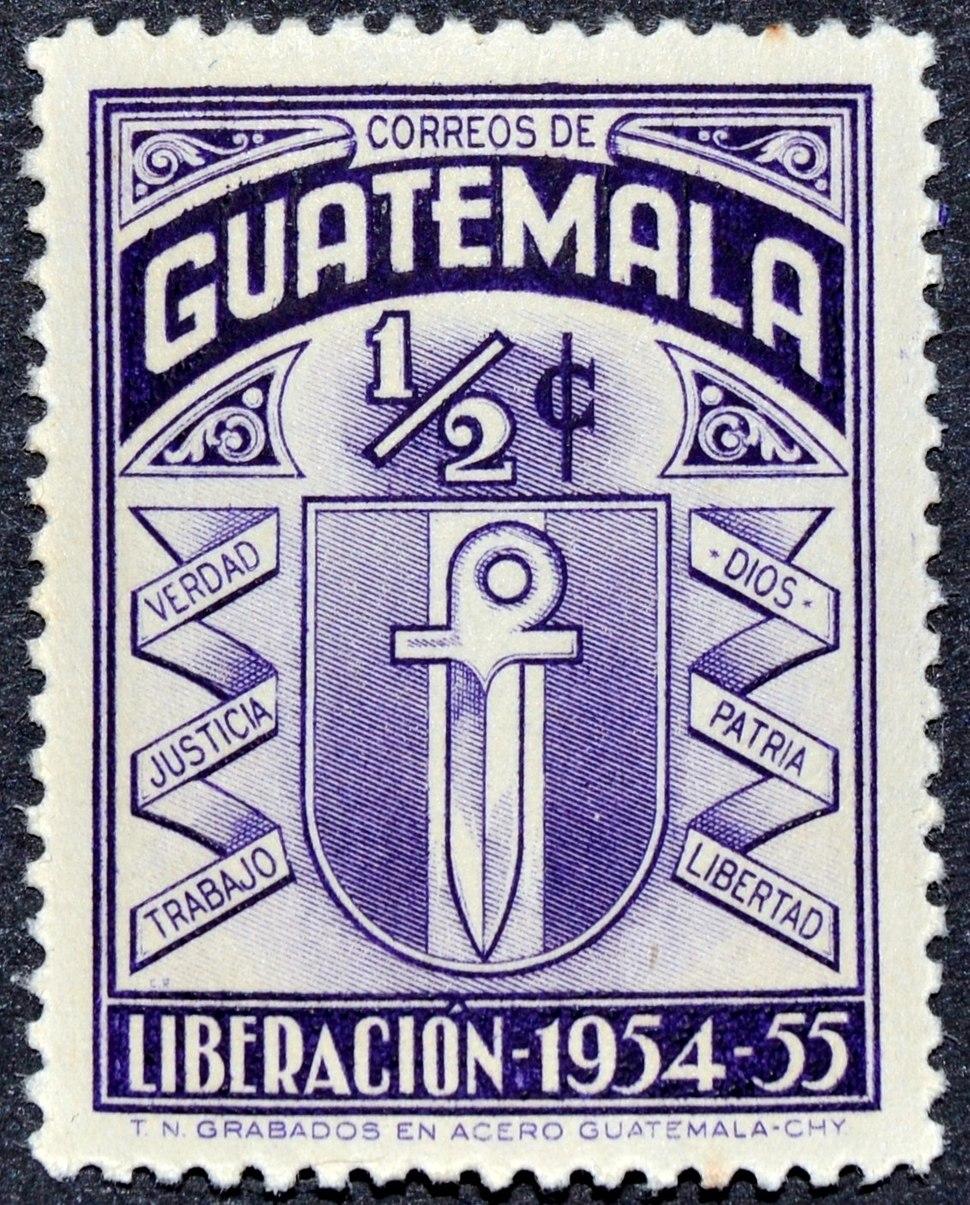 Guatemala liberacion 1954 55