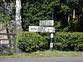 Guidepost at the crossroads in Bulkeley. - geograph.org.uk - 108044.jpg