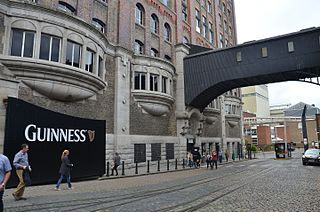 Guinness Storehouse Tourist and visitor attraction, Dublin