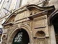 Hôtel de Ricard (Montpeller) - Porta (part superior) - 1.jpg