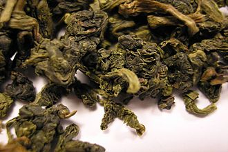 Oolong - Wuyi Huang Guan Yin tea leaves