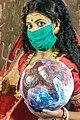HINDU GODDESS DURGA FOR MAHALAYA 2020- MAKE UP.jpg