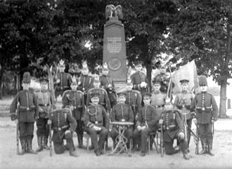 Goslar - war memorial 1870/1871 at barrack yard