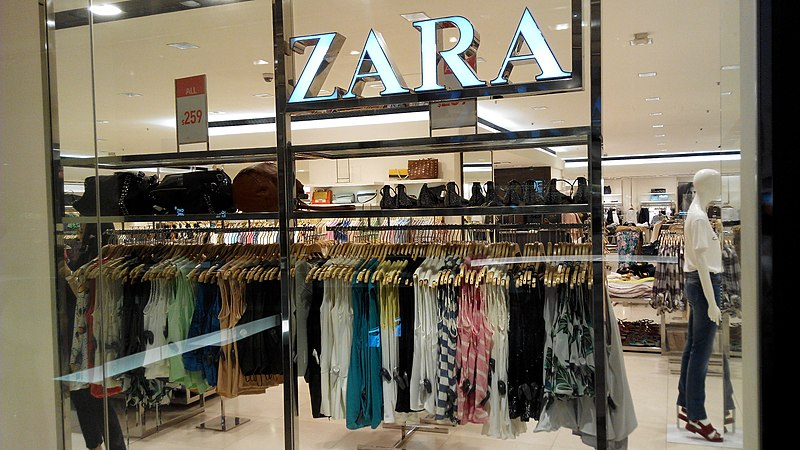 File:HK CWB Time Square mall shop ZARA clothing July-2014 RedMi.jpg