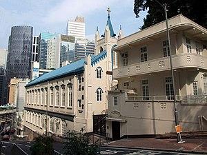 Glenealy, Hong Kong - The Anglican Sheng Kung Hui St Paul's Church along Glenealy