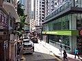HK WC tram view 灣仔 Wan Chai 莊士敦道 Johnston Road Hang Seng Bank September 2019 SSG 02.jpg