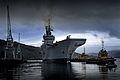 HMS Illustrious on Loch Long, Scotland MOD 45153595.jpg