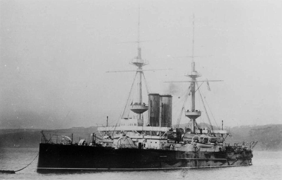 HMS Ocean (Canopus-class battleship)