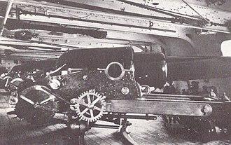 HMS Sultan (1870) - Image: HMS Sultan (1870) 10 inch gun