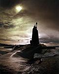 HMS VIGILANT. Nuclear powered Trident Submarine.CLYDE AREA OF SCOTLAND.03-04-1996. MOD 45137622.jpg