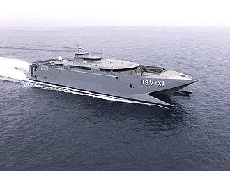 HSC Manannan - HSV-X1