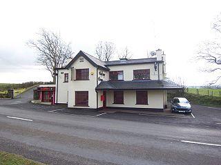 Aughafatten village in the United Kingdom