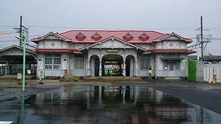 Hamaderakōen Station Railway station in Sakai, Japan