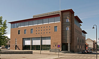 Judiciary of Norway - A district court building in Hamar