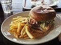 Hamburger at restaurant Jyvänen.jpg