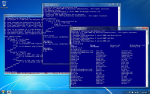 64-bit Hamilton C shell on a Windows 7 desktop.