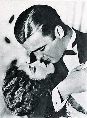 Doris Hill - Doris Hill and Neil Hamilton in The Studio Murder Mystery (1929)