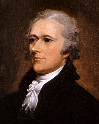 Flowing Hair dollar - Secretary of the Treasury Alexander Hamilton compiled a report on the American monetary system prior to the establishment of the United States Mint.