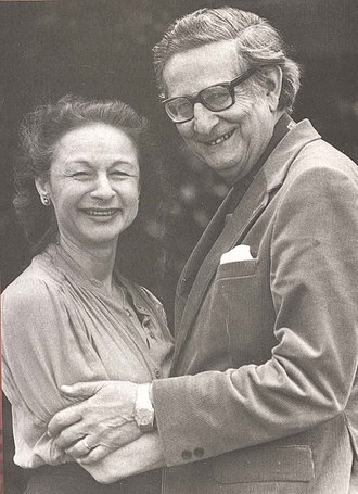 Hans Eysenck - Eysenck and his wife Sybil