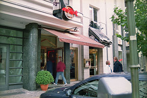 Hard Rock Cafe in Berlin, Germany
