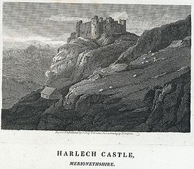 Harlech Castle, Merionethshire