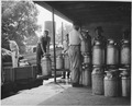 Harmony Community, Putnam County, Georgia. The cooperative milk station in Eatonton is a large one. . . . - NARA - 521318.tif