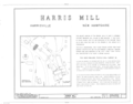 Harris Mill, Main and Prospect Streets, Harrisville, Cheshire County, NH HABS NH,3-HAR,1- (sheet 1 of 4).png