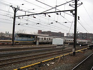 Gateway Program (Northeast Corridor) - NEC passes through Harrison Station