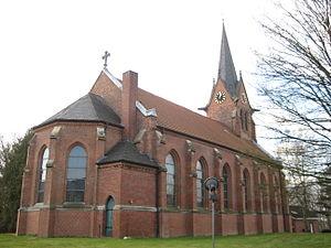 Ahlerstedt - Ahlerstedt Protestant church built in 1865