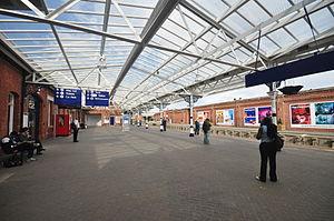 Hartlepool railway station - Hartlepool railway station in 2010