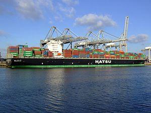 Hatsu Crystal p6, at the Amazone harbour, Port of Rotterdam, Holland 25-Jan-2007.jpg