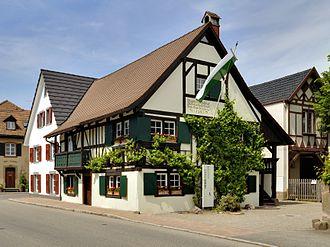 """Johann Peter Hebel - The """"Hebelhuus"""", the native house of Johann Peter Hebel in Hausen i.W."""