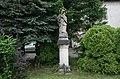 Havířov, Životice, socha sv. Jana Nepomuckého před zámkem (5).JPG