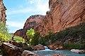 Havasu Creek landscape. Grand Canyon National Park, Arizona (26383460775).jpg