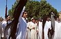 Hawsa dance during two brothers wedding ceremony, Bodour tribe, Fawaz clan.jpg