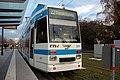 Heidelberg - Eppelheimer Strasse - Haltepunkt Kranichwego-Stotz - Duewag MGT6D3 - RNV3271 - 2018-12-01 17-04-44.jpg