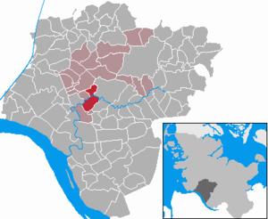 Heiligenstedten - Image: Heiligenstedten in IZ