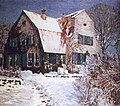 Heinrich Vogeler Barkenhoff im Schnee c1910.jpg