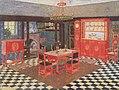 Heinrich Vogeler Entwurf für ein Speisezimmer c1909.jpg