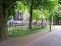 Hekwerk fence Nicholas Pope Catharijnesingel Utrecht.JPG