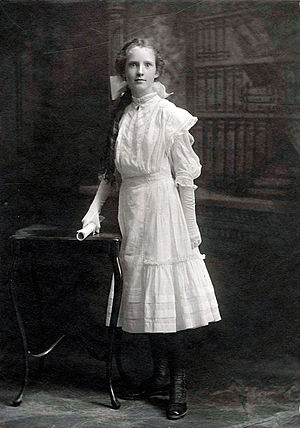 Helen C. White - White in high school