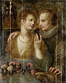 Hendrik Goltzius (attr) Courting scene.jpg