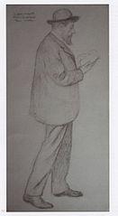 Le Peintre Henri Marre