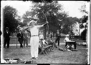 Henry B. Richardson - Richardson competing
