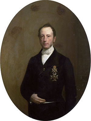 Albertus Jacobus Duymaer van Twist - Portrait of Albertus Jacobus Duymaer van Twist in 1861